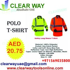 e8d286684e SAFETY LONG SLEEVE POLO T-SHIRT DEALER IN MUSSAFAH