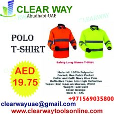 3f3f483219 SAFETY LONG SLEEVE POLO II T-SHIRT DEALER IN MUSSAFAH